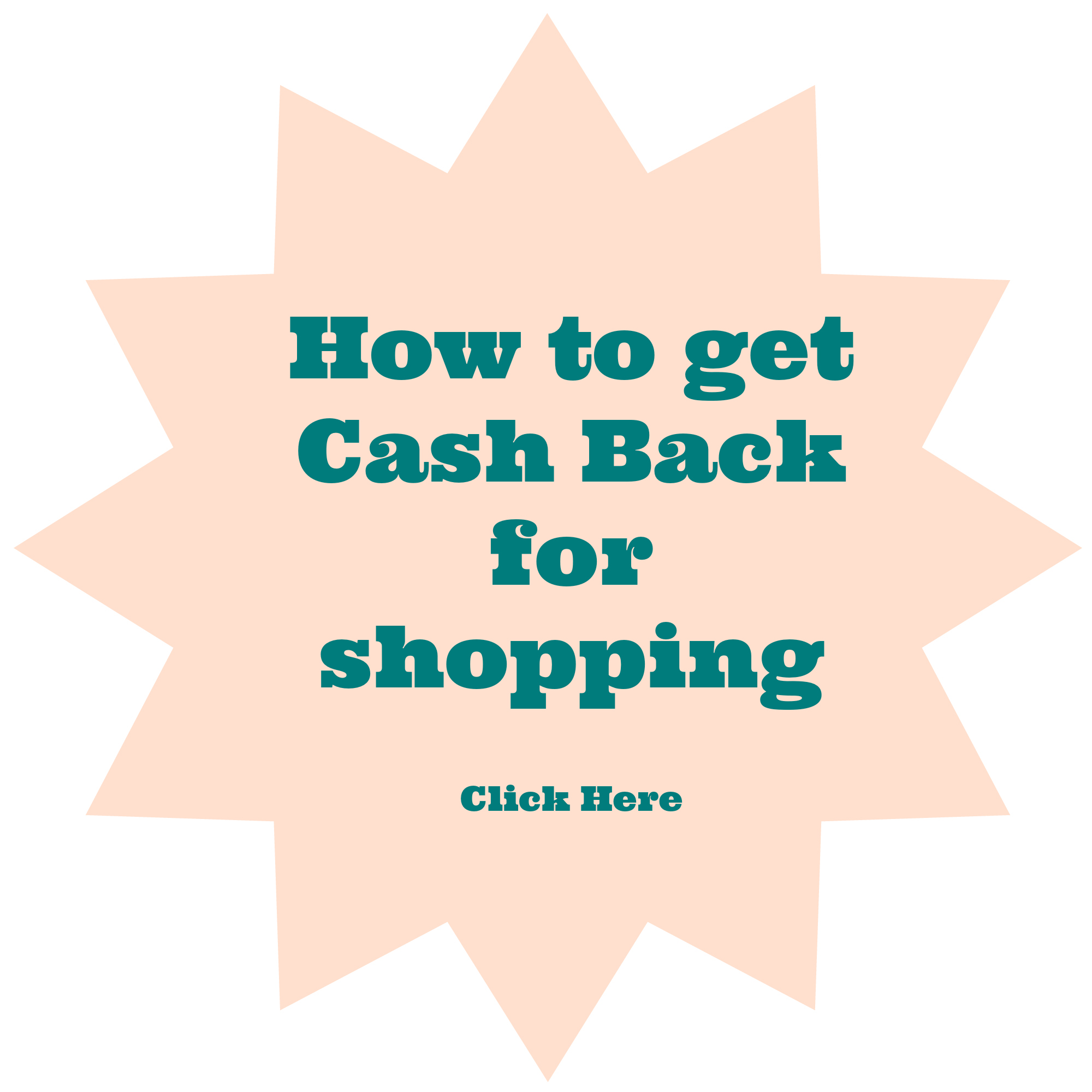 How to get Cash Back for Shopping